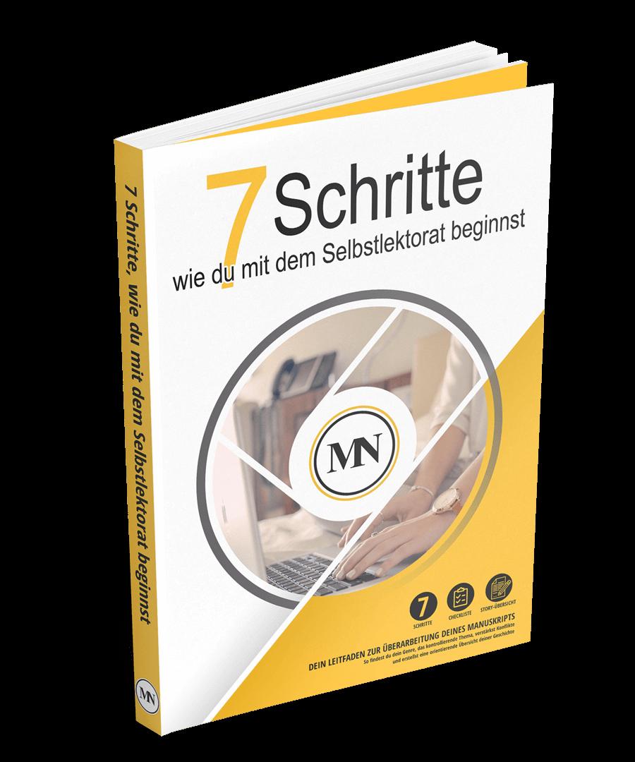 7 Schritte, wie du mit dem Selbstlektorat beginnst
