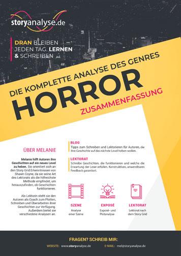 Tipps Zum Schreiben Einer Horrorstory Storyanalysede